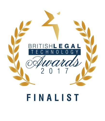 British Legal Technology Awards crest