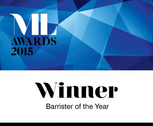 Winners Barrister of the Year
