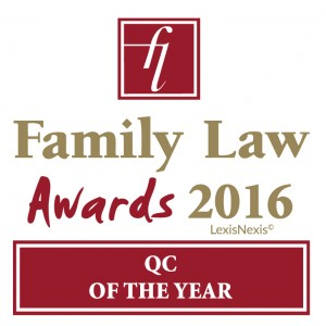 family law awards QC winner